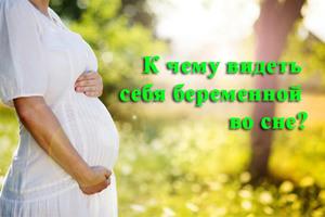 Значение сна про беременность